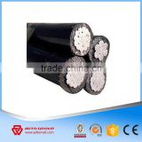 Aerial Overhead Cable Insulation Raw Material Silane XLPE Compound ABC Aerial Bundle Cable Size