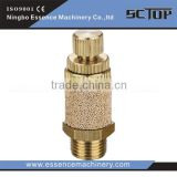 High quality festo brass silencer plastic pneumatic hose fitting SB quick exhaust muffling throttle valve