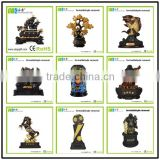 wholesale 3D Chinese religious Feng Shui crafts buddhist resin activated carbon business craft
