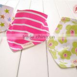 Hot sale baby cotton bibs,baby colorful snap bibs                                                                         Quality Choice
