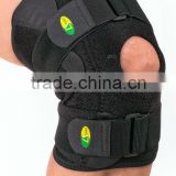 Hot football basketball volleyball black durable knee shin protector guard pad Knee Support Knee pad