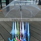 Advertising POE Clear Transparent Wholesale Cheap Umbrellas                                                                         Quality Choice