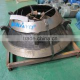 More wearable cone crusher bowl liner with high manganese