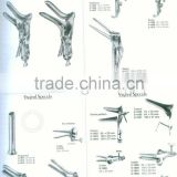 Vaginal Speculum/Stainless Steel Vaginal Specula/Collin/Cusco/Semm/Doyen/Grave