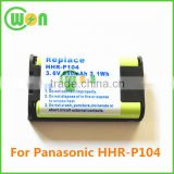cordless phone Battery P-P104 P104 battery for HHR-P104 HHR-P104A KX-FG6550 KX-FPG391 KX-TG2302 KX-TG2303 KX-TG2312 KX-TG2355W