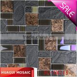 Iridescent mixed retro porcelain mosaic tile for wall and floor decoration