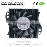 CoolCox Graphic card cooler fan VC-AL400,VGA cooler,VGA heatsink fan,VGA cooling fan,for nvidia Geforce,ATI Radeon