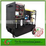 4 in 1 diesel generator with Air compressor DC Welding DC charger and 5kw diesel generator new product in china
