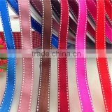 "Wholesale 3/8"" 10mm Width birthday gift box packing ribbon jumper wire edges grosgrain ribbon"