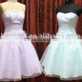 sweetheart neckline &lovely short prom dress