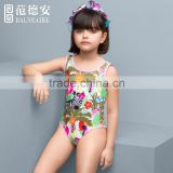Balneaire new design 2016 kids swimwear ,girl swimwear children