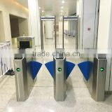 Bridge turnstile for airport metro security system people access control Perco