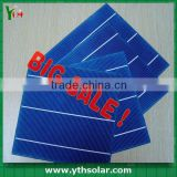 Grade A B 2BB 3BB mono poly multi crystalline 125x125mm 156x156mm 5/6 inch solar cell/solar wafer/solar panel from 3.5W-4.7W 15%