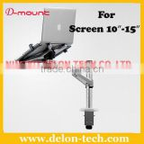 "new universal aluminum desk 10"" 15""computer bracket tablet mount laptop holder"