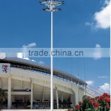 high mast poles,street poles,15-45meters galvanized polygon auto lift high mast Lighting Pole,lighting poles price list,stadium