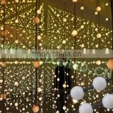 outdoor 3d dmx led pixel ball light string LED RGB pixel ball light DMX control Madrix compatible