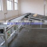 Wood conveying line