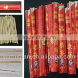 Natural bamboo chopstick your own design package food utensils