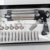 hot sale 13pcs biscuit cookie press with icing gun set for bake for cake