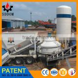 High Quality Mobile Concrete Batching Mixing Plant Used for construction machinery and equipment