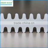 Milk white acetate cellulose shoelace/handbag tipping film