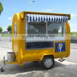 Mobile food trailer Portable Snack Food Cart Trailer