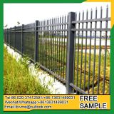 Powder coating tubular steel fence wrought iron tube fencing
