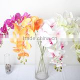 SJ10111099 Artificial China silk orchid single stem flower