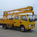 Famous Dongfeng 14MT high-altitude work truck with hook