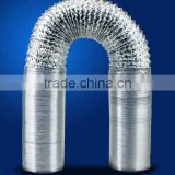 10 Inch X 25 Ft Flexible Ducting Tube w/ 2 Clamps Inline Fan Blower Exhaust DuctFan Blower Exhaust Duct