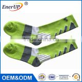 2017 Hot selling athletic sports compression socks custom sport socks running sock wholesale