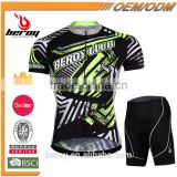 BEROY cycling team jersey design,bike racing team shirts and shorts unit