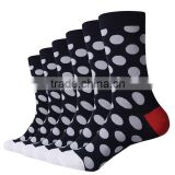 Men fashion happy socks custom socks soft combed cotton dress socks business socks argyle socks