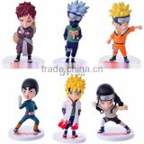 Sveda Hot selling action figure SV-NR027 Naruto figures set of 6pcs, Japanese anime figure cheap price