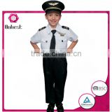 Onbest China supplier comfortable hot quality uniform costume police halloween&carnival career costume for children's cloth