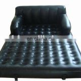 Inflatable air bed with classic style