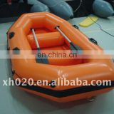 (CE)PVC or Hypalon air deck 2 persons in stock ready to ship out Inflatable Boat BB-002