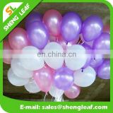 Promotion Item hot air latex glass balloon decoration