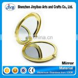 cheap price sale blank cosmetic pockt mirror no mold fee compact mirror for makeup