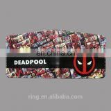 New Designer Cartoon Anime Wallet Cool Comic Deadpool Wallets For Men Women