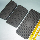 Molded Rubber Pedal Pad Custom injection molded brake pedal or clutch pedal covers China Manufacturer