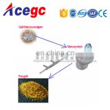 Gold refine amalgamating machine and mercury purify equipment