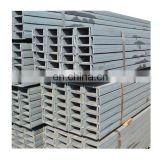 Good Quality Low Carbon Light weight Steel U Channel