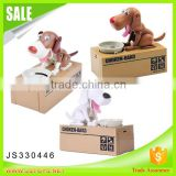 New arrival funny dog piggy bank for kids