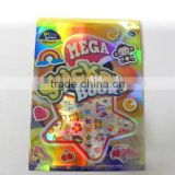 hot sale EVA christmas party decoration, high quality EVA sticker book chritsmas supplies