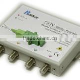 FTTH Four Ways CATV Fiber Optic Receiver build in Filter
