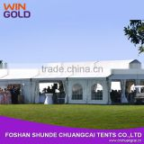 25m width strong aluminum profile trade show tent for exhibition pvc fabric cover