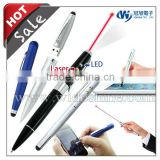 Multi Function Pen Drive , Capacitive Stylus with Laser Pointer Led Light USB Drive with Touch Screen Pens
