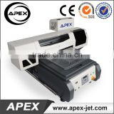 Semi-automatic Desktop Flatbed Digital anajet textile t-shirt printer