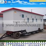 new design outdoor public mobile portable toilet/two three four Rooms Trailer Toilet Caravan/outdoor toilet shanghai